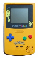 Game Boy Color Console (Pokemon Yellow & Blue) (CGB-001)
