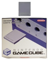 Gamecube Official Memory Card 59 (Boxed)