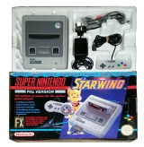 SNES Console + 1 Controller (Boxed) (Starwing Version)
