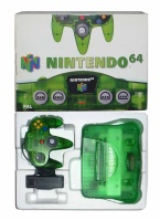 N64 Console + 1 Controller (Jungle Green) (Boxed)