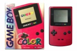 Game Boy Color Console (Berry Red) (CGB-001) (Boxed)
