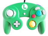 Gamecube Official Controller (Luigi Green)