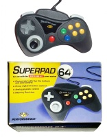 N64 Controller: Superpad 64 (Boxed)