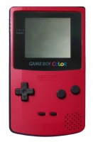 Game Boy Color Console (Berry Red) (CGB-001)