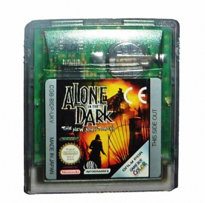 Alone in the Dark: The New Nightmare - Game Boy