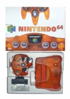 N64 Console + 1 Controller (Fire Orange) (Boxed)