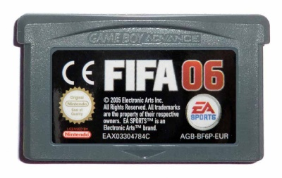 FIFA Soccer 06 - Game Boy Advance