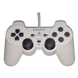 PS2 Official DualShock 2 Controller (White)