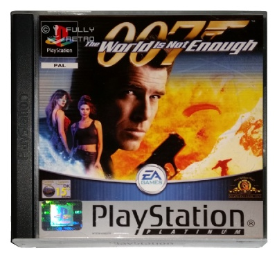 007: The World Is Not Enough (Platinum Range) - Playstation