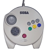 Saturn Official 3D Control Pad (White)