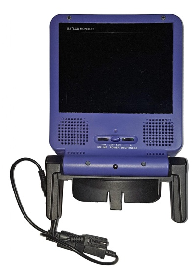Gamecube Portable LCD TV Screen (Indigo) (Includes Power Cable) - Gamecube