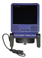 Gamecube Portable LCD TV Screen (Indigo) (Includes Power Cable)
