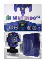 N64 Console + 1 Controller (Grape Purple) (Boxed)