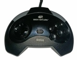 Saturn Official Controller (Model 1) (Black)