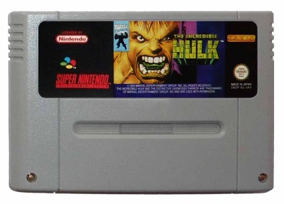 The Incredible Hulk - SNES