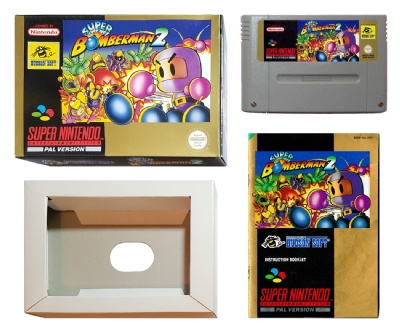 Super Bomberman 2 (Boxed with Manual) - SNES