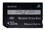 PSP Official Memory Stick Duo (32MB)