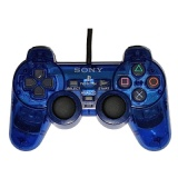 PS2 Official DualShock 2 Controller (Transparent Blue)