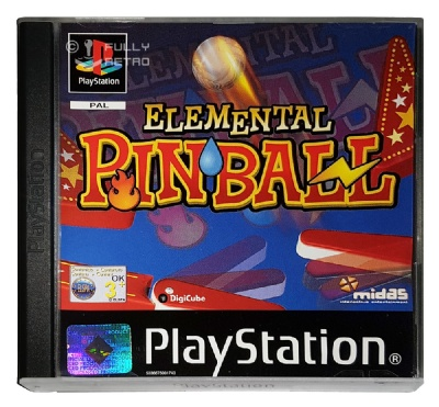 Elemental Pinball - Playstation