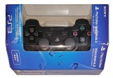 PS3 Official Wireless DualShock 3 Controller (Black) (CECH-ZC2E) (Boxed)