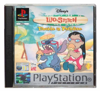 Disney's Lilo & Stitch: Trouble in Paradise (Platinum Range) - Playstation