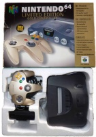 N64 Console + 1 Gold Controller (Boxed)