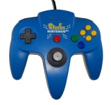 N64 Official Controller (Pokemon Pikachu Blue)
