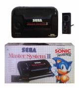 Master System II Console + 1 Controller (+ Sonic) (Boxed)