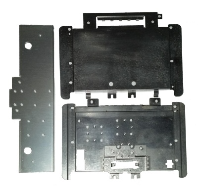 N64 Replacement Part: 3 x Official Console Shielding Plates - N64