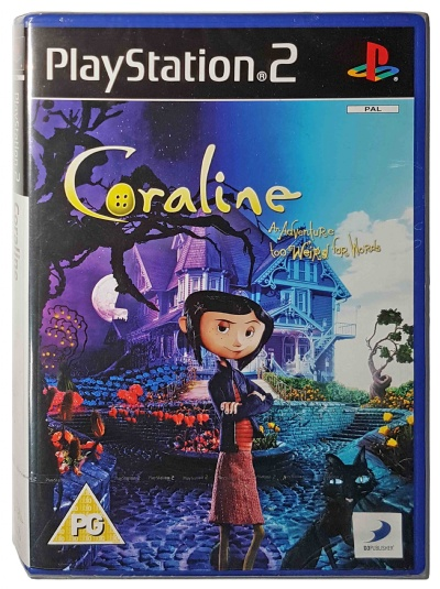 Coraline: An Adventure Too Weird For Words (New & Sealed) - Playstation 2