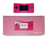 Game Boy Micro Console (Pink) (Boxed)