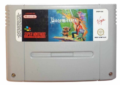 The Pagemaster - SNES