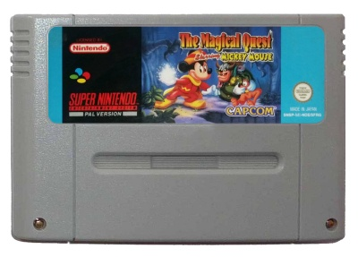The Magical Quest starring Mickey Mouse [German] - SNES