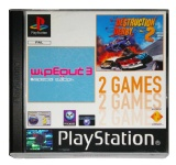 2 Games: wipEout 3: Special Edition + Destruction Derby 2