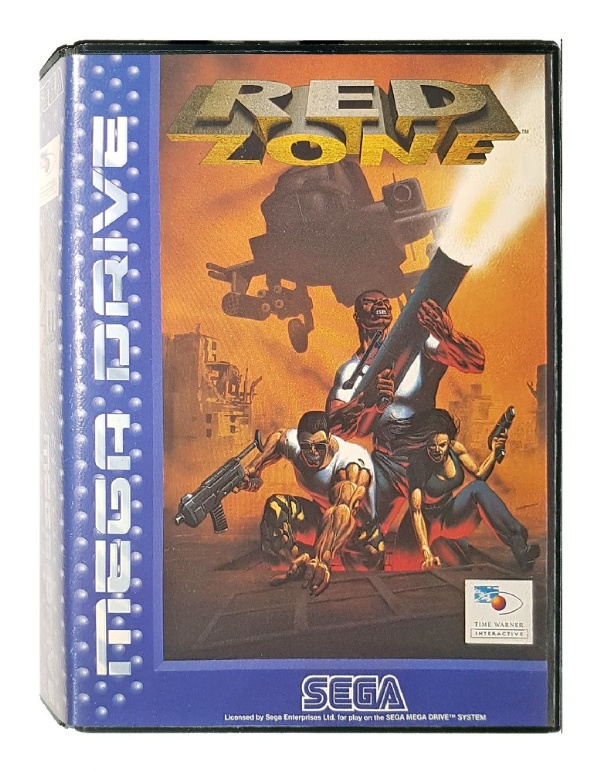 buy red zone mega drive australia