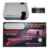 NES Console + 1 Controller (NESE-001) (Boxed) (Action Set)