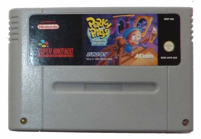 Porky Pig's Haunted Holiday - SNES