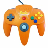 N64 Official Controller (Pokemon Pikachu Orange)