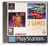 2 Games: Tekken + Ridge Racer (New & Sealed)