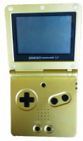 Game Boy Advance SP Console (Zelda Gold) (AGS-001)