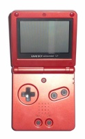 Game Boy Advance SP Console (Flame Red) (AGS-001)