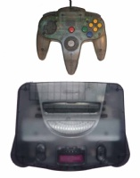 N64 Console + 1 Controller (Smoke Black)