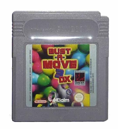 Bust-A-Move 3 DX - Game Boy