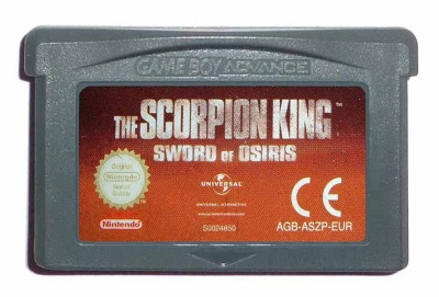 The Scorpion King: Sword of Osiris - Game Boy Advance