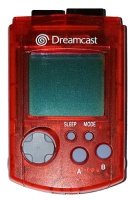 Dreamcast Official VMU (Red)