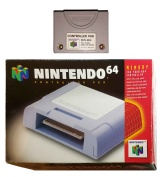 N64 Official Controller Pak Memory Card (NUS-004) (Boxed)