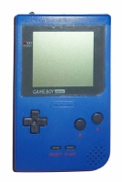 Game Boy Pocket Console (Blue) (MGB-001)