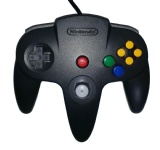 N64 Official Controller (Mario Kart Black & Grey Special Edition)