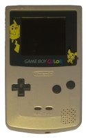 Game Boy Color Console (Pokemon Silver & Gold) (CGB-001) (Refurbished)