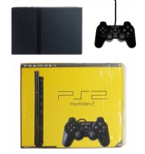 PS2 Console + 1 Controller (Slimline Black) (Boxed)